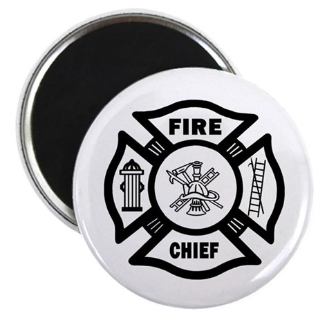 """Fire Chief 2.25"""" Magnet (100 pack)"""