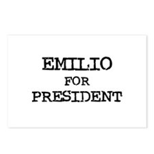 Emilio for President Postcards (Package of 8)