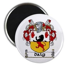 """Daly Coat of Arms 2.25"""" Magnet (10 pack)"""