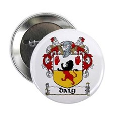 "Daly Coat of Arms 2.25"" Button (10 pack)"