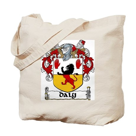 Daly Coat of Arms Tote Bag