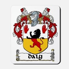 Daly Coat of Arms Mousepad