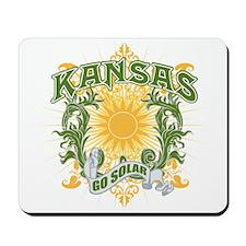 Go Solar Kansas Mousepad