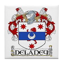 Delaney Coat of Arms Tile Coaster