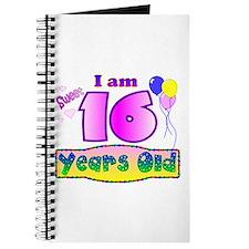 Sweet 16 Birthday Journal