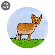 "sheep whisperer 3.5"" Button (10 pack)"