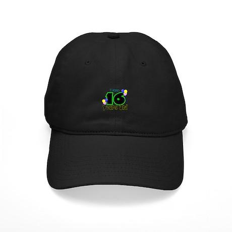 16th Birthday Black Cap