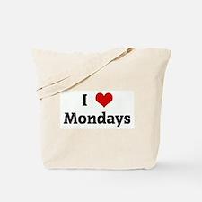 I Love Mondays Tote Bag