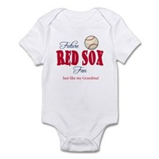Future red Sox fan Like Grandma Infant Bodysuit