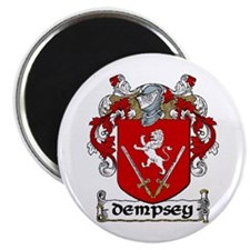 """Dempsey Coat of Arms 2.25"""" Magnet (10 pack)"""