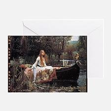 Lady of Shallot Greeting Card
