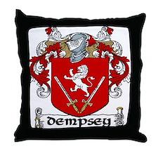 Dempsey Coat of Arms Throw Pillow