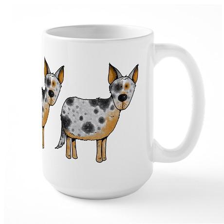 sheep whisperer Large Mug
