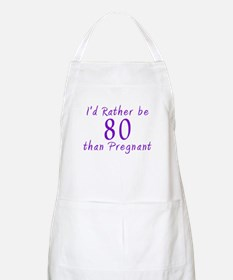 Rather be 80 BBQ Apron