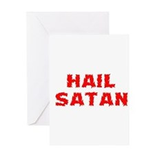 Hail Satan Greeting Card