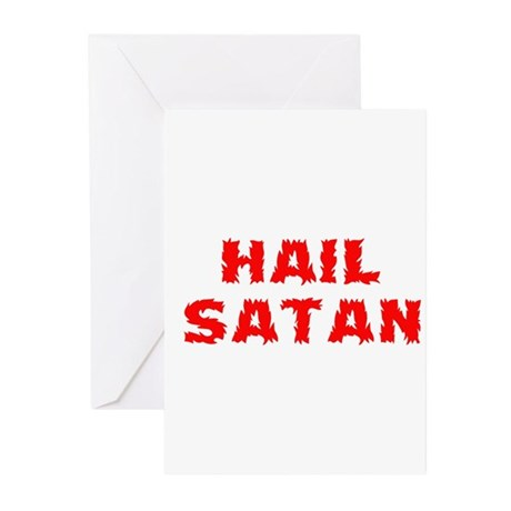 Hail Satan Greeting Cards (Pk of 10)