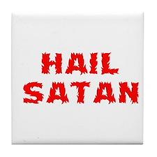 Hail Satan Tile Coaster