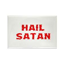 Hail Satan Rectangle Magnet
