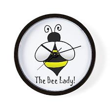 The Bee Lady Wall Clock