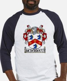 McDermott Coat of Arms Baseball Jersey