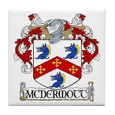 McDermott Coat of Arms Tile Coaster