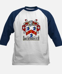 McDermott Coat of Arms Kids Baseball Jersey