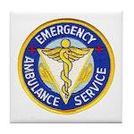 Emergency Ambulance Tile Coaster