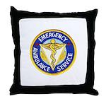 Emergency Ambulance Throw Pillow