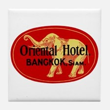 Oriental Hotel Bangkok Tile Coaster