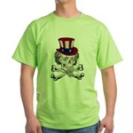 Uncle Crossbones Green T-Shirt