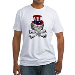 Uncle Crossbones Fitted T-Shirt