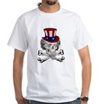 Uncle Crossbones White T-Shirt