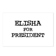 Elisha for President Postcards (Package of 8)