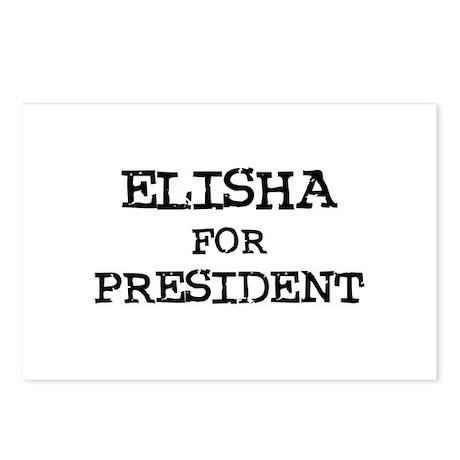 Elisha for President Postcards (Package of 8)