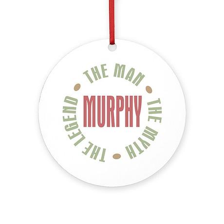 Murphy Man Myth Legend Ornament (Round)
