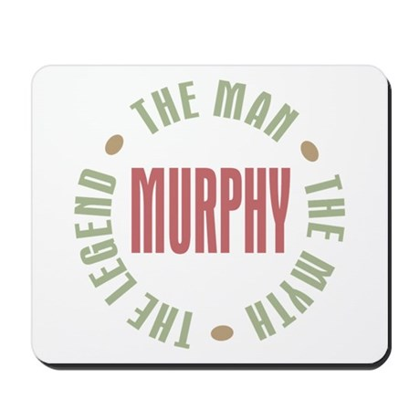 Murphy Man Myth Legend Mousepad