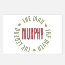 Murphy Man Myth Legend Postcards (Package of 8)