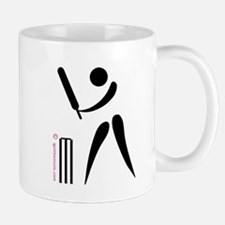 Cricket Black Mug