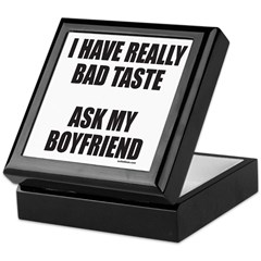 BAD TASTE Keepsake Box