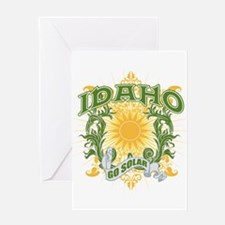 Go Solar Idaho Greeting Card