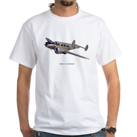 Beech C-45 Expediter White T-Shirt