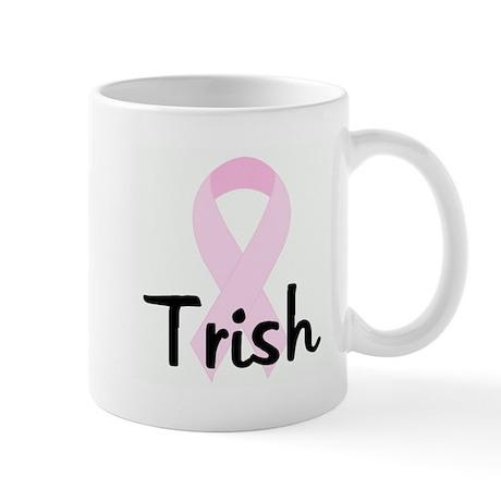 Trish pink ribbon Mug