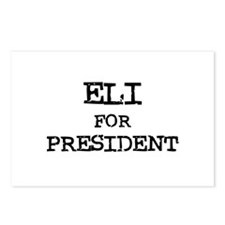 Eli for President Postcards (Package of 8)
