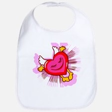 Flying Heart Bib