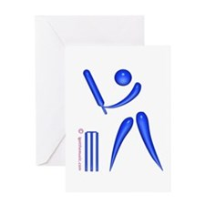 Cricket Blue Greeting Card