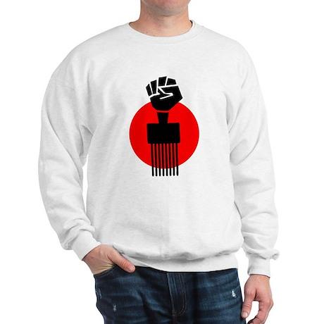 Black Fist Power Sweatshirt