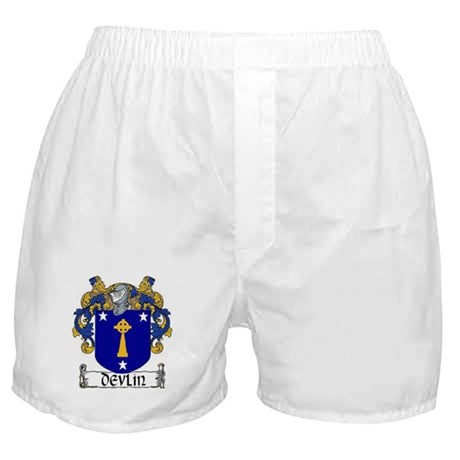 Devlin Coat of Arms Boxer Shorts