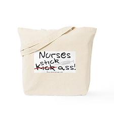 Nurses Stick Ass Tote Bag