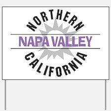 Napa Valley California Yard Sign