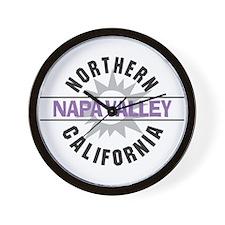 Napa Valley California Wall Clock